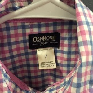 OshKosh B'gosh Shirts & Tops - 👶🏻OSHKOSH SIZE 7